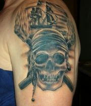 pirates of the caribbean tattoos