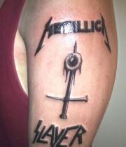 meatllica slayer tattoos