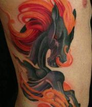 best horse tattoo