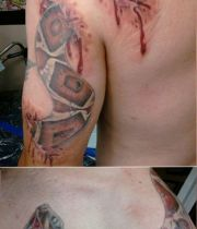 big snake tattoo