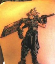 final fantasy tattoo