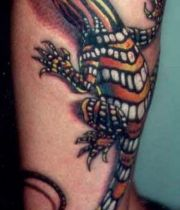 tattoo lizard